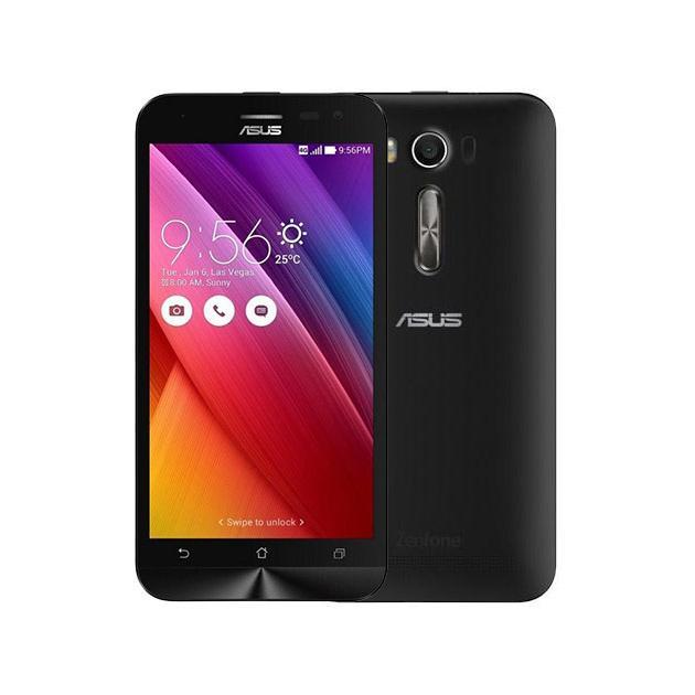 Смартфон Asus Zenfone 2 Laser ZE500KL 16Гб, Черный смартфон asus zenfone laser ze500kl 1a435ru 32gb 2ram black черный