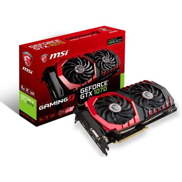 MSI GeForce GTX 1080, GTX 1080 GAMING X+ 8G, 8Гб, GDDR5X, OC, Ret