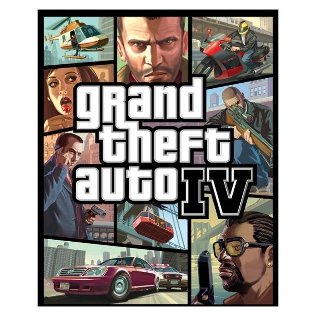 Видеоигра Софтклаб Grand Theft Auto IV игра софтклаб grand theft auto iv