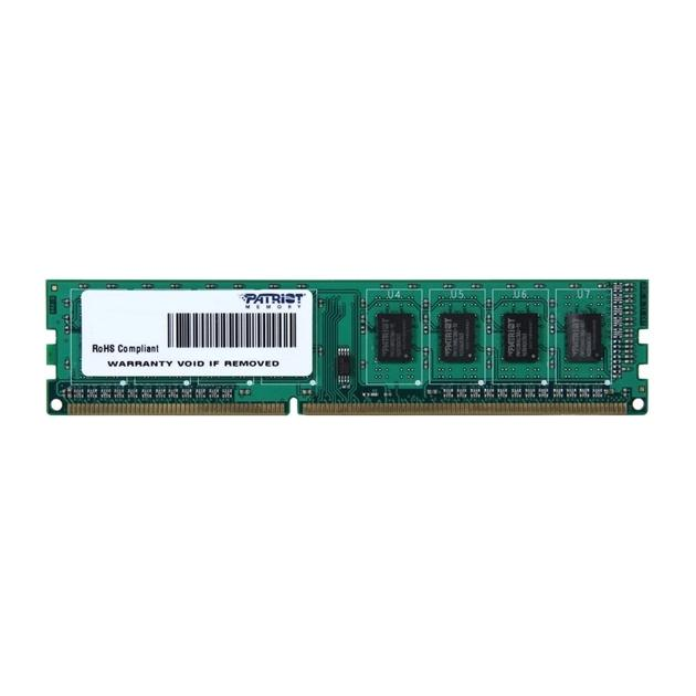 Patriot Signature PSD34G DDR3, 1, 4Гб, PC-12800, PC3-12800, 1600МГц, DIMM