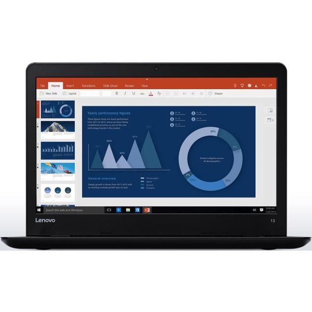 "Lenovo ThinkPad Edge 13 20GKS06200 13.3"", Intel Core i5, 2300МГц, 4Гб RAM, DVD нет, 256Гб, Windows 10, Черный, Wi-Fi"