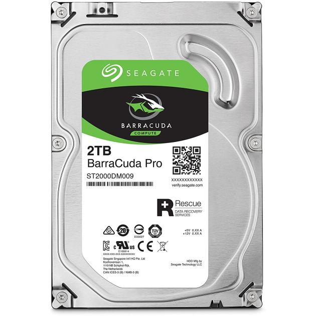 """все цены на  Жесткий диск Seagate Barracuda Pro ST2000DM009, 2Тб, HDD, SATA III, 3.5""""  онлайн"""
