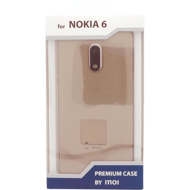 Inoi для Nokia 6 силиконовый Серый