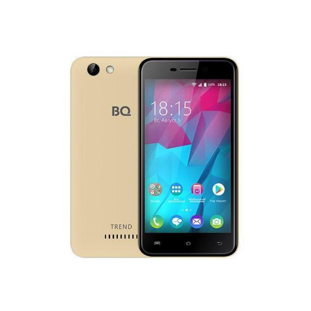 BQ 5000L Trend 8Гб, Золотой, Dual SIM, 4G LTE, 3G