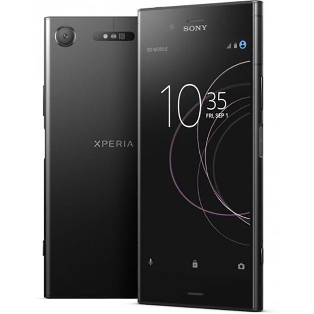 Смартфон Sony Xperia XZ1 Черный цена и фото