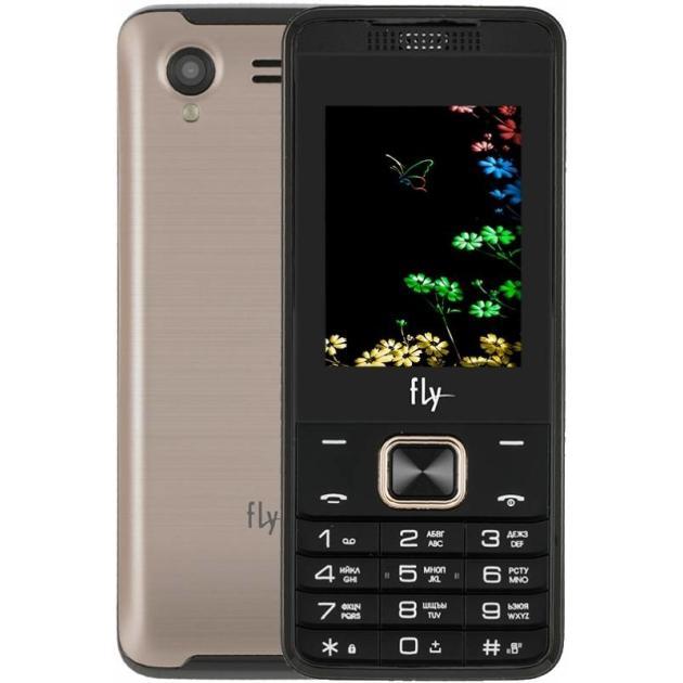 Мобильный телефон Fly FF245 Бежевый