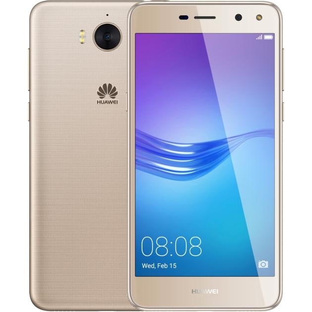 Смартфон Huawei Y5 2017 Золотой смартфон huawei y5 2017 lte gold