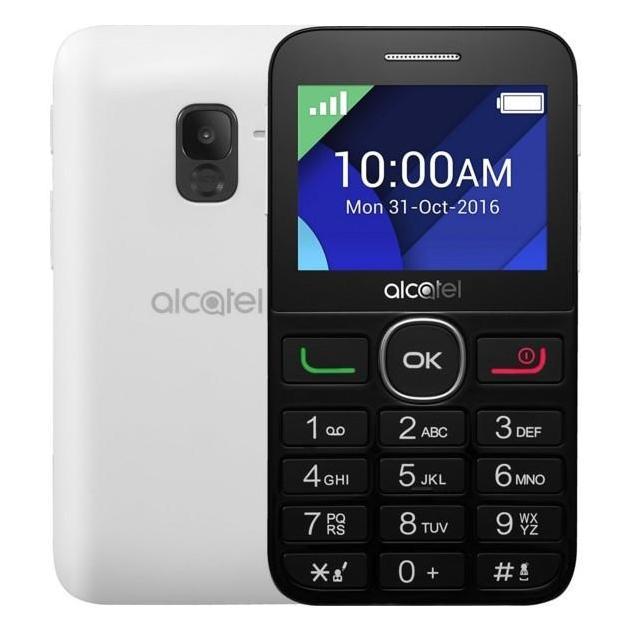 Мобильный телефон Alcatel 2008G Белый/Черный