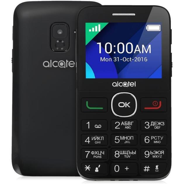 Мобильный телефон Alcatel 2008G Черный