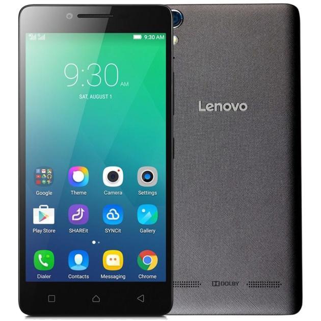 Смартфон Lenovo A6010 16Гб, Черный аксессуар чехол lenovo a6010 a6010 plus aksberry red