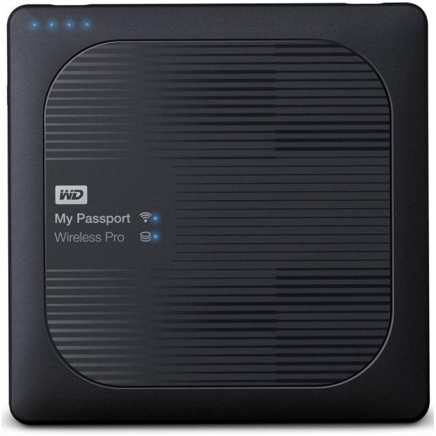 Western Digital My Passport Wireless Pro 1Tb 1 Тб, Черный