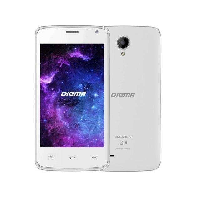 все цены на  Смартфон Digma Linx A400 Белый  онлайн