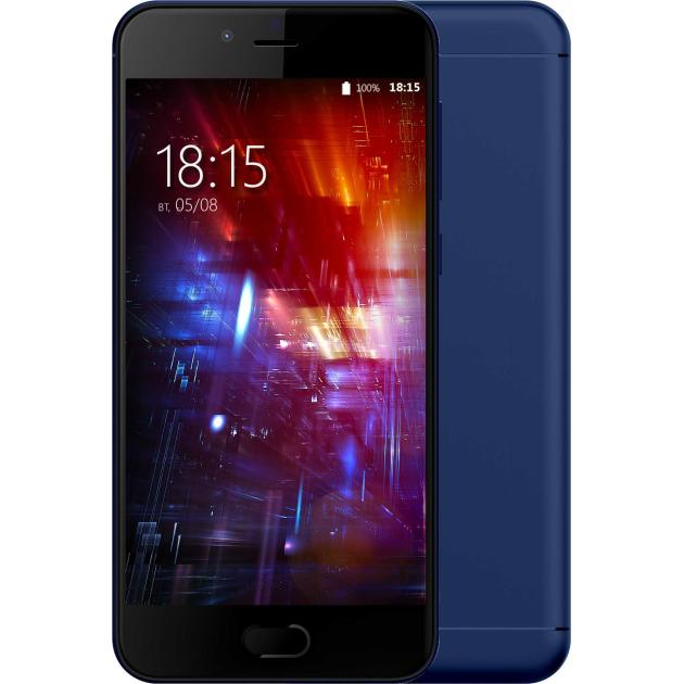Смартфон BQ-Mobile BQ 5203 Vision Темно-синий смартфон bq mobile vision black bq 5203