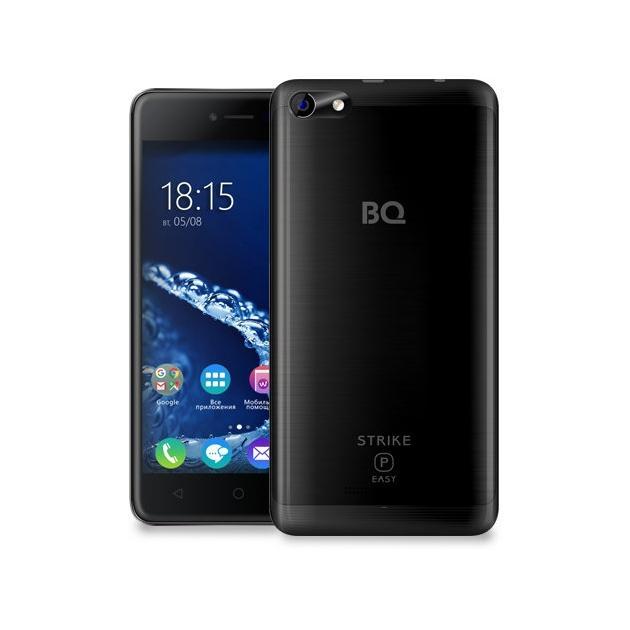 Смартфон BQ-Mobile BQ 5058 Strike Power Easy Черный