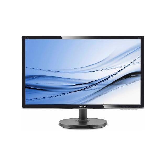 "Philips 226V6QSB6 01/10 21.5"", Черный, DVI, Full HD"