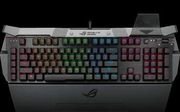 ASUS выпускает RGB-обновление для потрясающей клавиатуры Horus GK2000