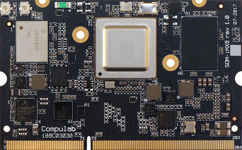 С декабря в продажу поступит мини-компьютер Compulab IOT-GATE-RPi
