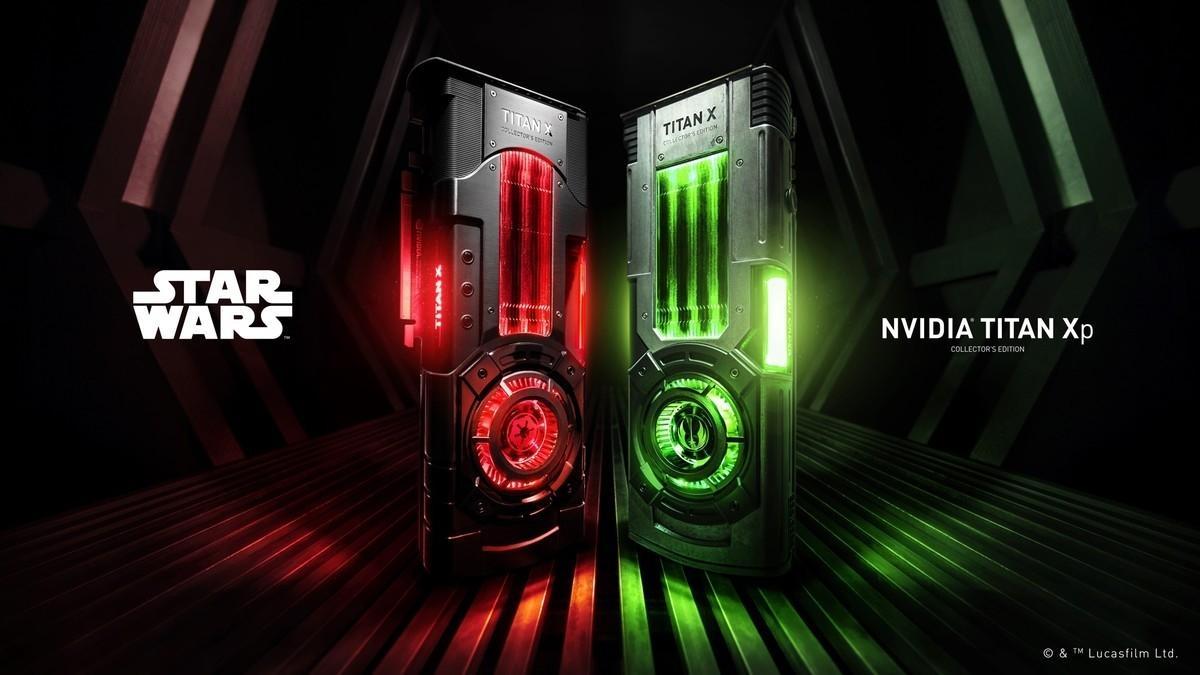NVIDIA показали Titan X в тематике Звёздных Войн