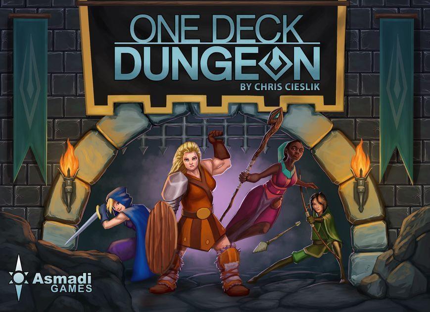 Настольная игра в цифровом виде: шаг навстречу будущему с One Deck Dungeon