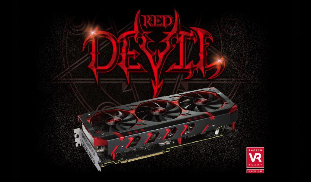 Раскрыт секрет новой видеокарты Radeon RX Vega 64 Red Devil