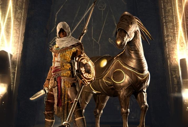 В Assassins Creed Origins появился Костюм Эдема