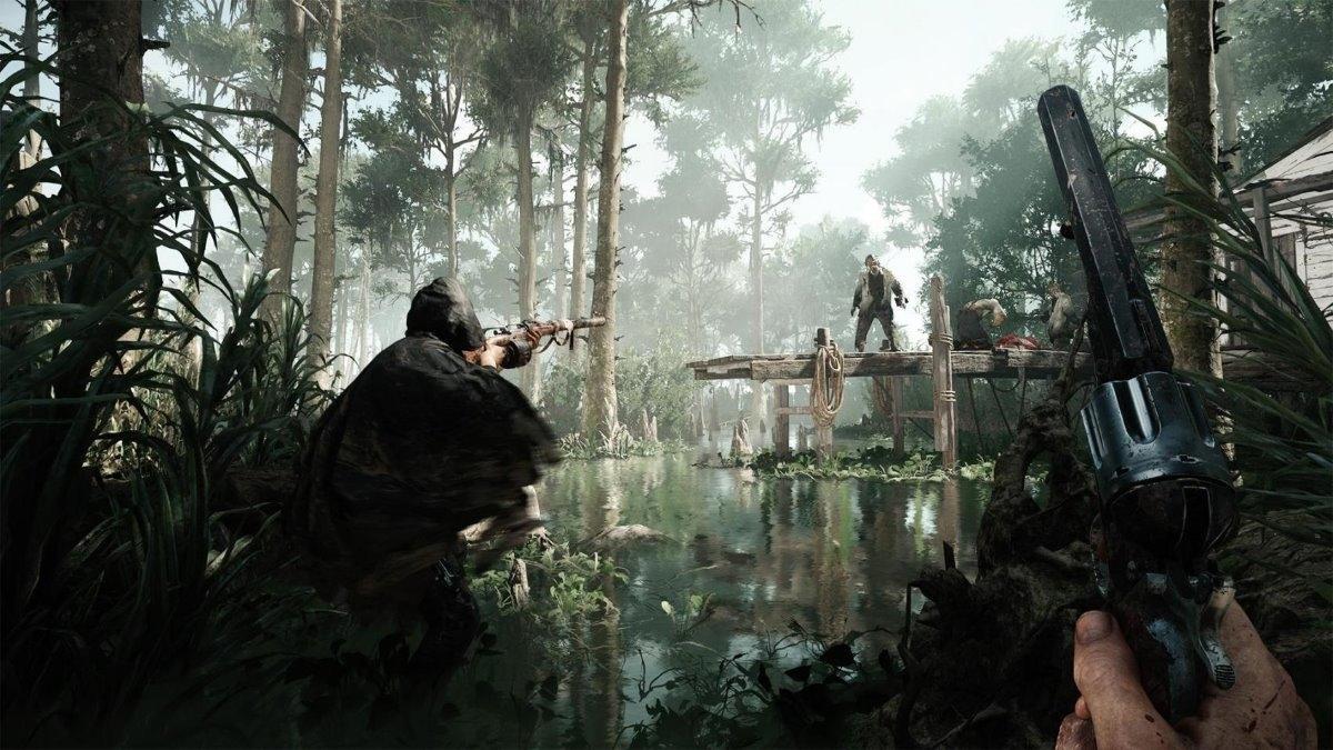 Новый геймплей Hunt: Showdown от Crytek