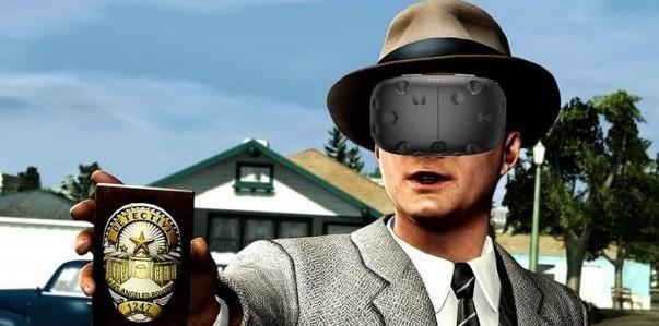 В L.A.Noire можно сыграть, используя очки-VR