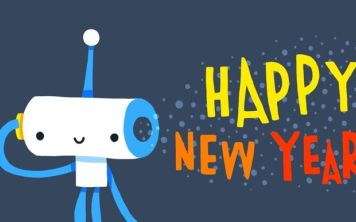 Новый Год у роботов