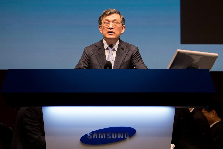 Гендиректор Samsung Electronic ушел в отставку
