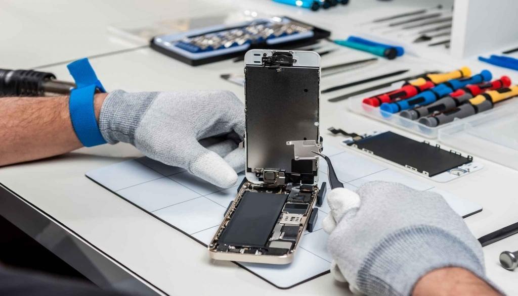 Проблемы с ремонтом новых iPhone