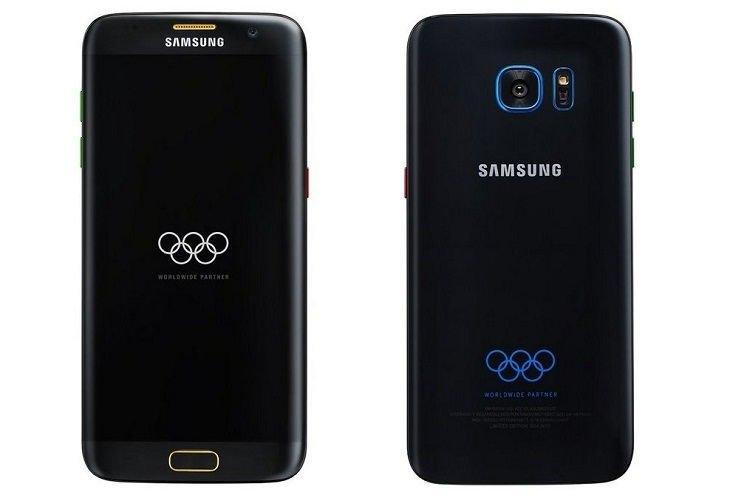 Samsung готовит к выходу смартфон Galaxy S7 edge Olympic Edition
