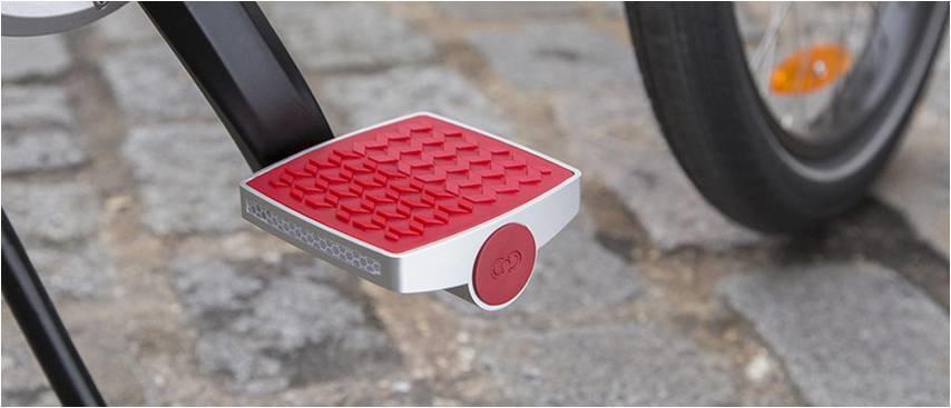 Connected Cycle – первые смарт педали для велосипеда