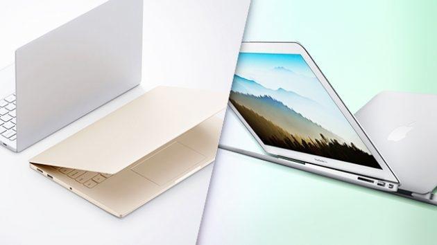 Сравнение титанов: Xiaomi Mi Notebook Air и MacBook Air