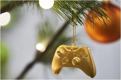 Золотой Xbox под Новогоднюю елку