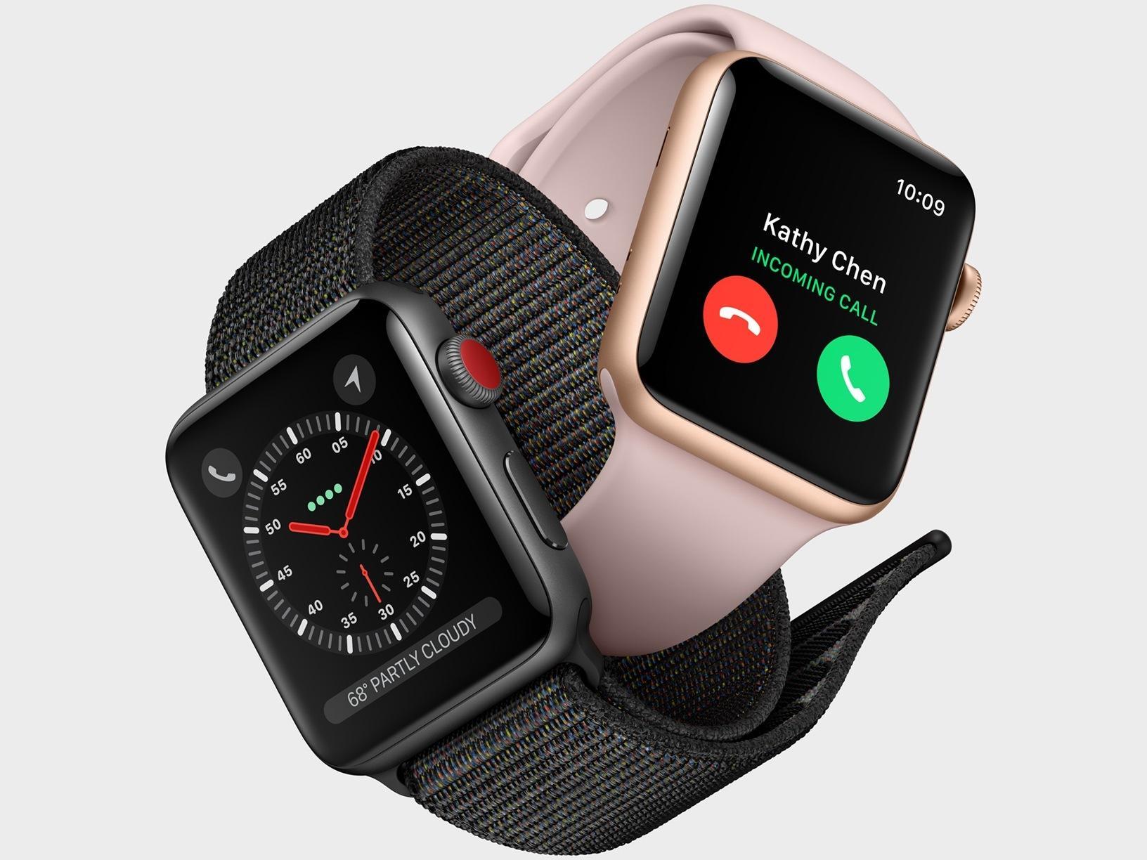 Брак Apple Watch 3