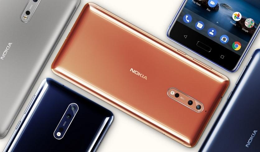 Nokia обновились до Android 8.0