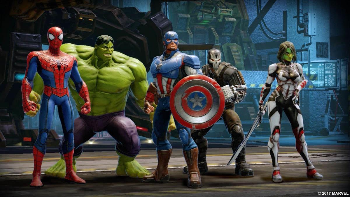 Анонс мобильной RPG по мотивам фильмов Marvel