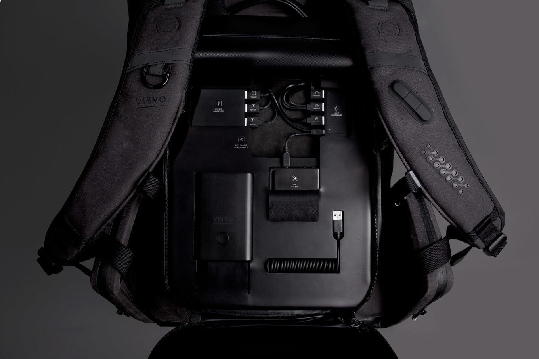 Технологичные рюкзаки Visvo Novel c беспроводной зарядкой