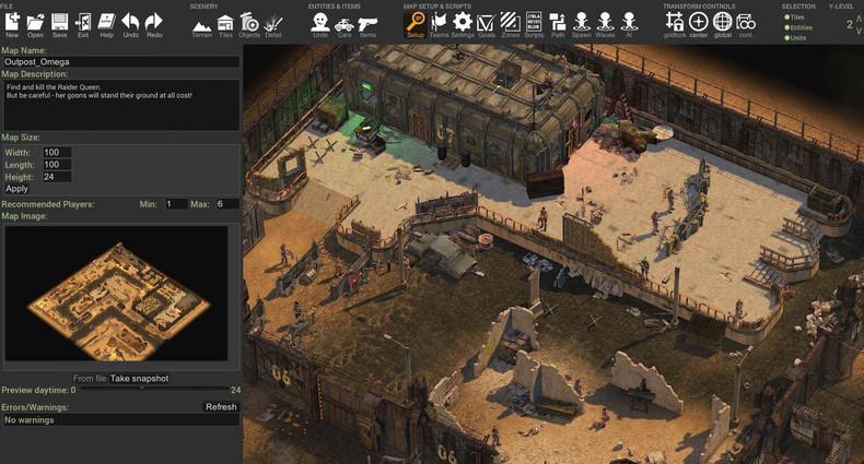 Тактическая игра RPG Dustwind теперь в раннем доступе