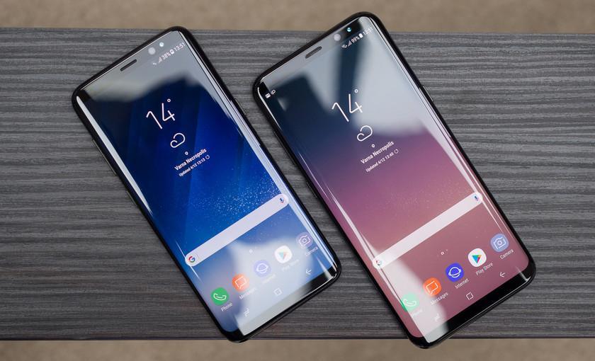 Первое видео сSamsung Galaxy S9