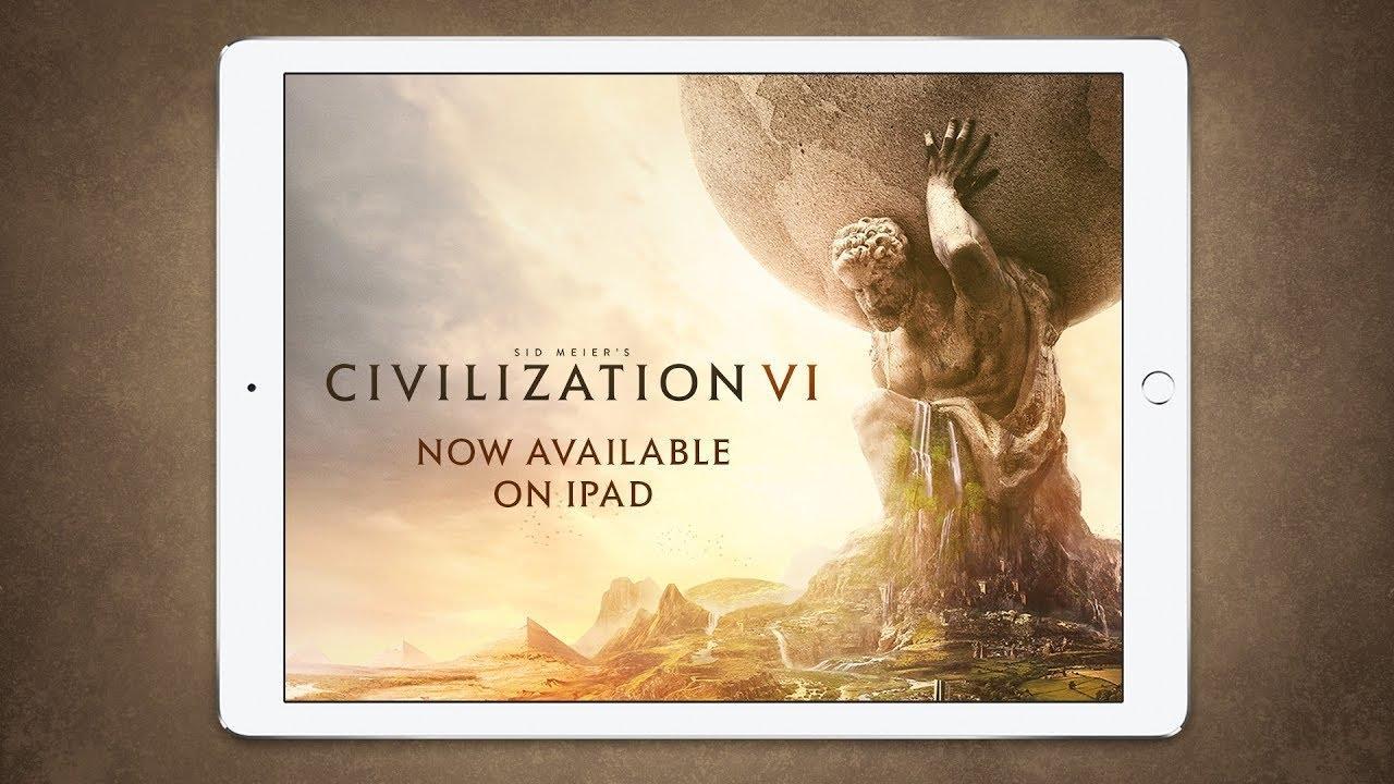 Поиграем в Civilization 6 на iPad?