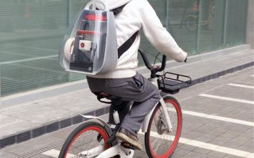 В Китае изобрели рюкзак для 3D-принтера
