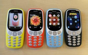 Против часовой стрелки:Nokia 3310 и её семейное древо