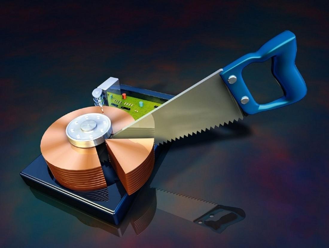 Как разбить жёсткий диск на разделы?
