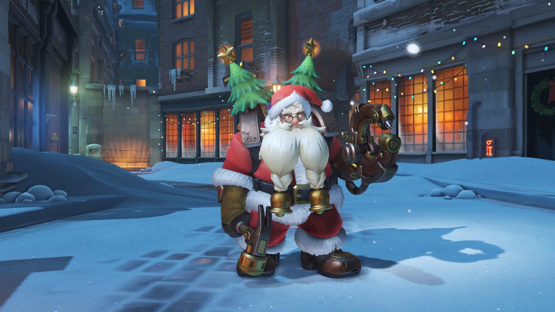 Предновогоднее событие в Overwatch с 12 декабря