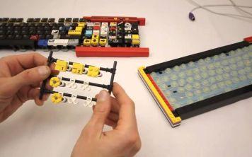 Механическая клавиатура из Lego
