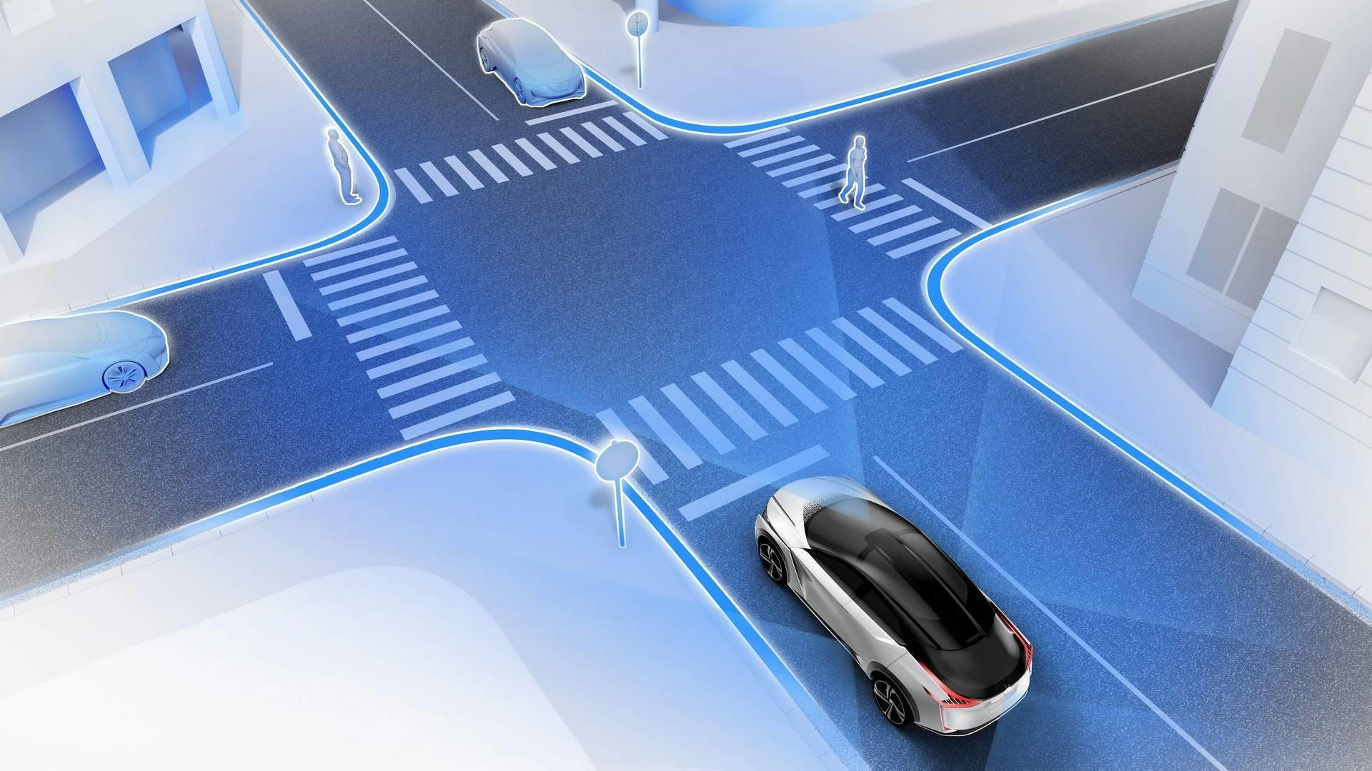Nissan IMX - автономный электроавтомобиль будущего