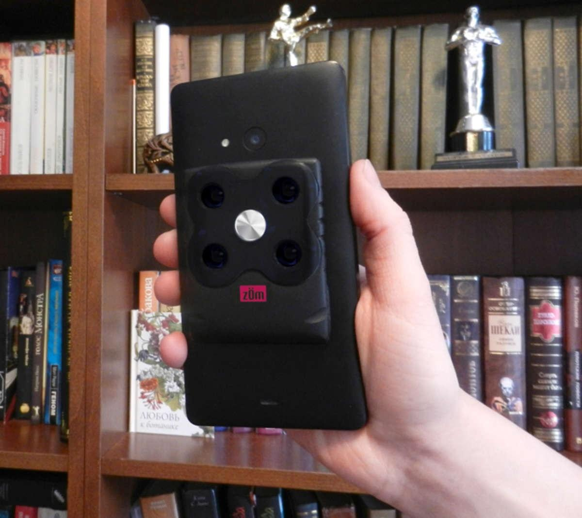 Zom – ночное зрение вашего смартфона