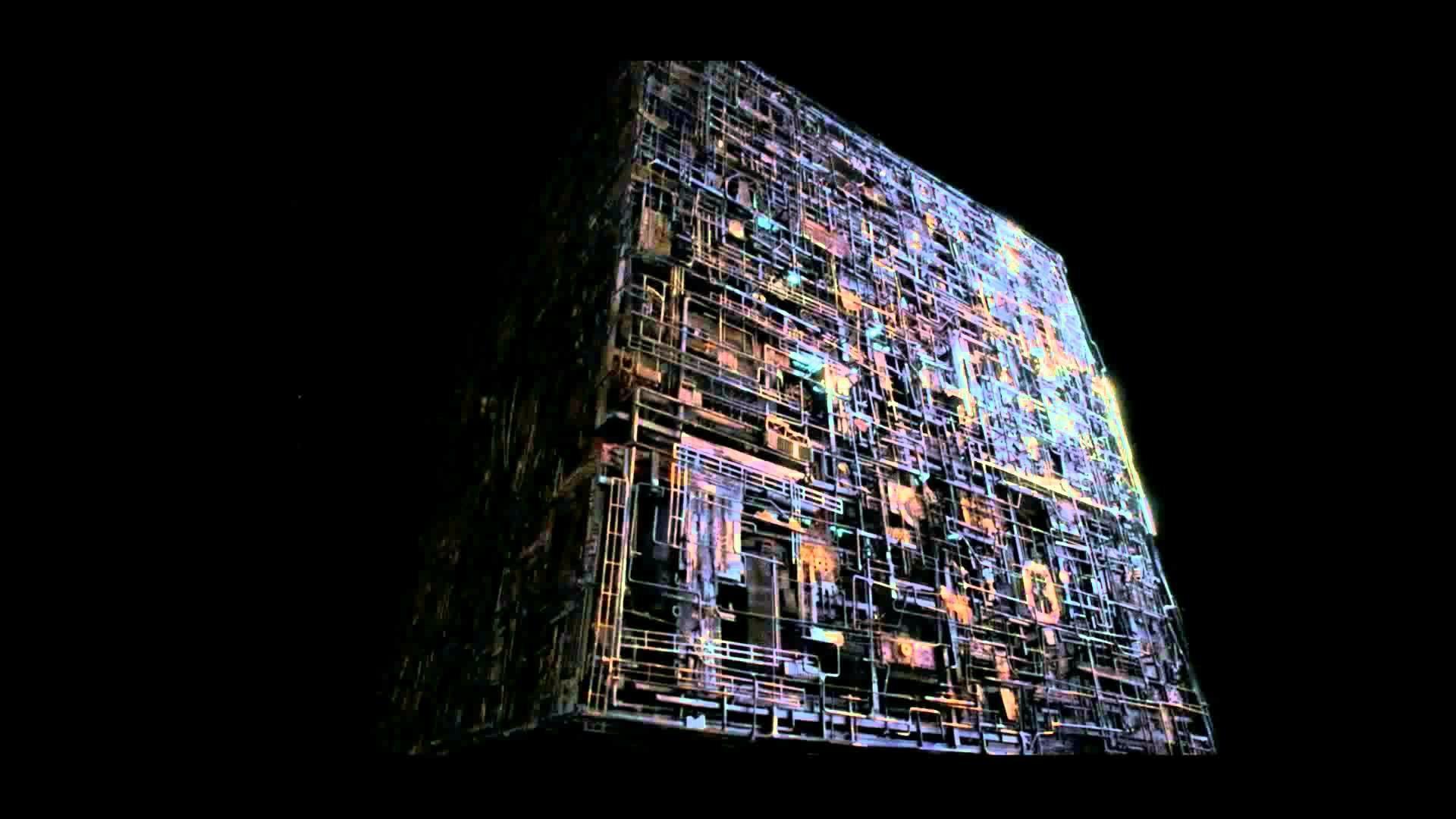 Новый системный блок в форме куба Борга