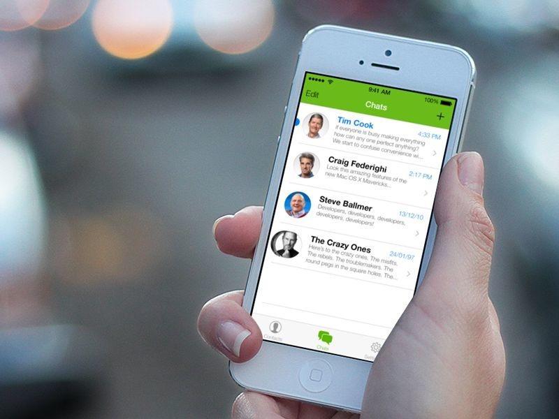 Самые популярные мессенджеры на iPhone